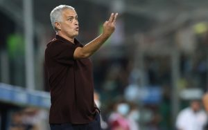 "Salernitana-Roma, Mourinho: ""Gara dominata, ero sicuro di vincere"